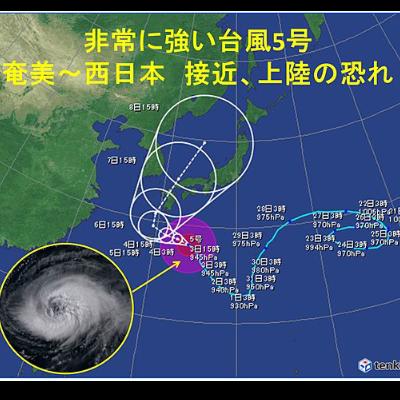 台風の威力