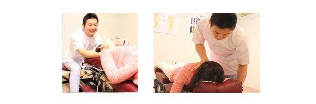 首の痛みの原因を明確にし、原因に対してアプローチすることが結果を出すために必要なことです