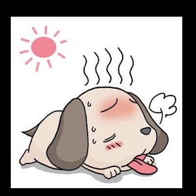 うだるような暑さ