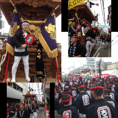 岸和田だんじり祭り2017