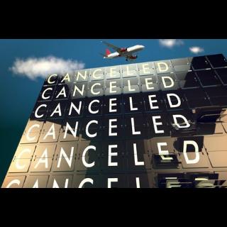 飛行機キャンセル