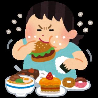 食べ過ぎ感