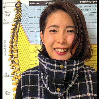 お客様の喜びの声:ストレートネック・首の痛み改善;事例・千葉由子様