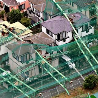 台風15号の爪痕
